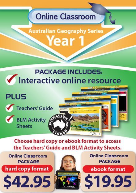 Online Classroom - Australian Geography Series Year 1