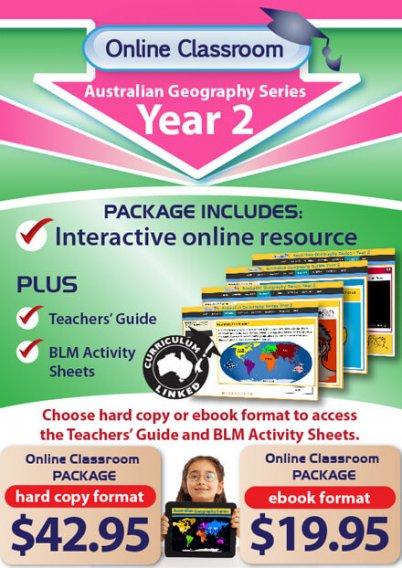 Online Classroom: Australian Geography Series - Year 2