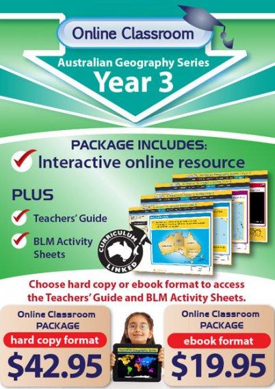Online Classroom: Australian Geography Series - Year 3