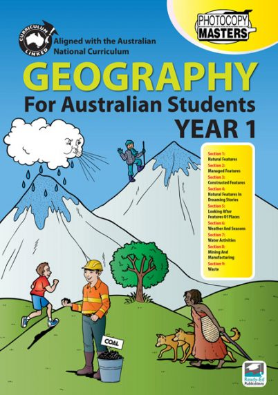 Geography-For-Australian-Students-Year-1