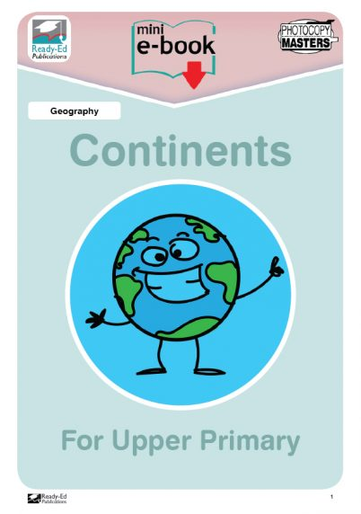 Continents-For-Upper-Primary