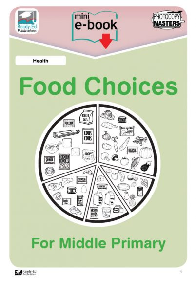Health-Food-Choices-For-Middle-Primary-Worksheets
