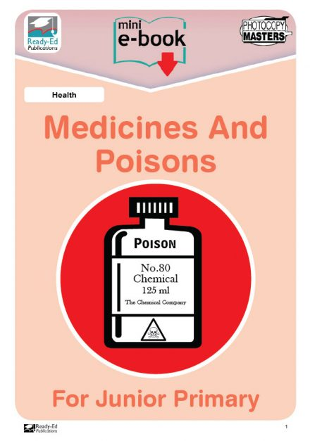 Health-Medicines-And-Poisons-For-Junior-Primary-Worksheets