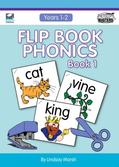 Flip Book Phonics Book 1