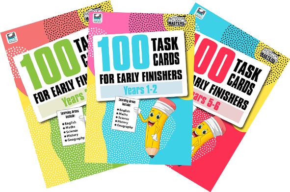Book 100 Task Cards